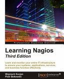 Learning Nagios   Third Edition Book
