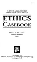 American Association for Marriage and Family Therapy Ethics Casebook