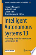 Intelligent Autonomous Systems 13 Book PDF