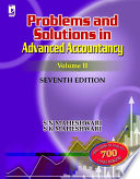 Problems & Solutions in Advanced Accountancy Volume II, 7th Edition