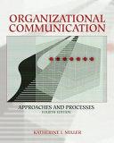 Cover of Organizational Communication