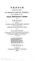 Pdf Venice under the yoke of France and of Austria