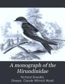 A Monograph of the Hirundinidae