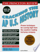 Cracking the Ap U. S. History Exam