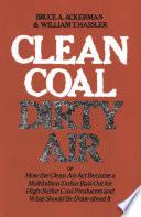 Clean Coal Dirty Air Book PDF