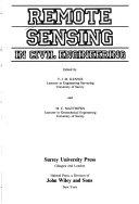 Remote Sensing in Civil Engineering
