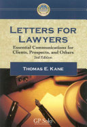 Letters for Lawyers