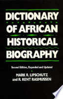 Dictionary of African Historical Biography