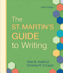 The St  Martin s Guide to Writing Book