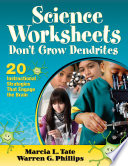 Science Worksheets Don t Grow Dendrites