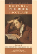 Edinburgh History of the Book in Scotland, Volume 2