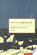 Donald Hall Books, Donald Hall poetry book