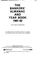 Bankers  Almanac and Year Book  1981 82