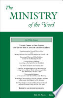 The Ministry Of The Word Vol 22 No 6