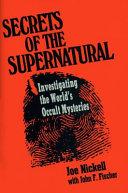Secrets Of The Supernatural Book PDF