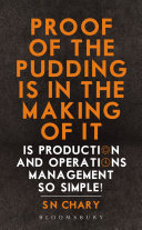 Proof of The Pudding Is In The Making Of It