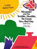 Alexander And The Terrible Horrible No Good Very Bad Day Pdf/ePub eBook