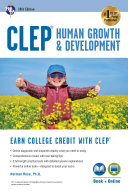 CLEP Human Growth   Development  10th Ed   Book   Online