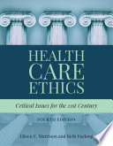 Cover of Health Care Ethics