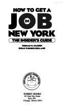 How to Get a Job in New York
