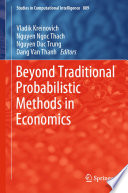 Beyond Traditional Probabilistic Methods in Economics