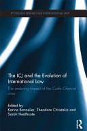Pdf The ICJ and the Evolution of International Law