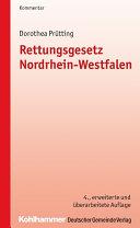 Rettungsgesetz Nordrhein-Westfalen