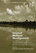 Tropical Wetland Management
