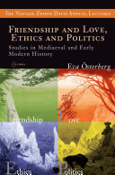 Friendship and Love, Ethics and Politics Pdf/ePub eBook