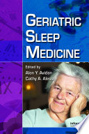 Geriatric Sleep Medicine Book