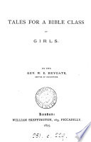 Tales for a Bible class of girls