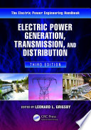 Electric Power Generation Transmission And Distribution Book PDF
