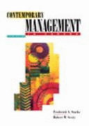 Contemporary Management in Canada