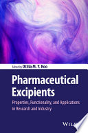 Pharmaceutical Excipients Book