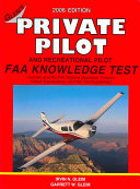 Private Pilot FAA Knowledge Test