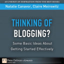 Thinking of Blogging