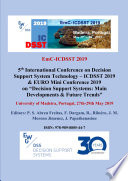 Proceedings of the 5th International Conference on Decision Support System Technology     ICDSST 2019   EURO Mini Conference 2019 Book