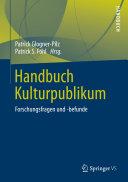 Handbuch Kulturpublikum [Pdf/ePub] eBook