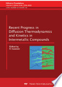 Recent Progress in Diffusion Thermodynamics and Kinetics in Intermetallic Compounds