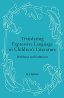 Translating Expressive Language in Children's Literature