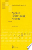 Applied Finite Group Actions Book