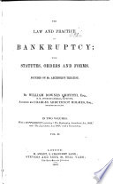 The Law and Practice in Bankruptcy Book PDF