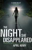 The Night She Disappeared banner backdrop