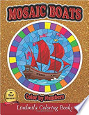 Mosaic Boats Color By Numbers