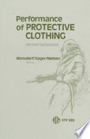 Performance Of Protective Clothing Book PDF