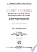 Deutsch-englisch von H. Baumann durch einen Nachtrag bis auf die heutige Zeit ergänzt von E. Klatt