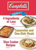 Campbells 3 Book in 1