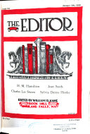 The Editor  the journal of information for literary workers