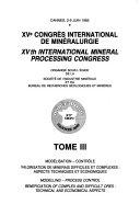 Fifteenth International Mineral Processing Congress