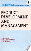 Product development and management